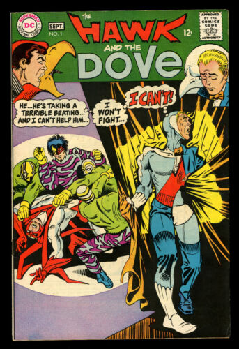 The Hawk and the Dove #1 (DC, 1968) #Ditko