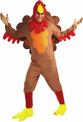 Turkey - Adult Fleece Unisex Thanksgiving Costume - Adult Turkey Costumes