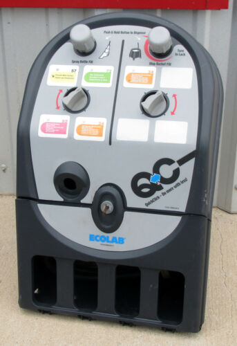 EcoLab QC QuickClick Central Supply Cleaning Products Dispensing System *Used*