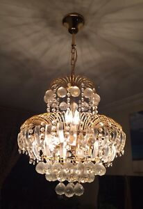 Gorgeous Heart Shaped Chandelier with Swarovski Crystals