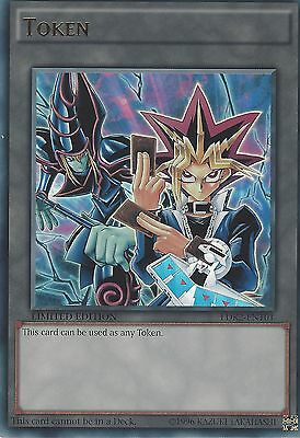 Yugi /& Dark Magician LDK2-ENT01 Token Limited Edition Ultra Rare Card YuGiOh