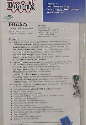 Digitrax HO Scale DH126PS 1.5 AMP DCC Decoder  Free Shipping