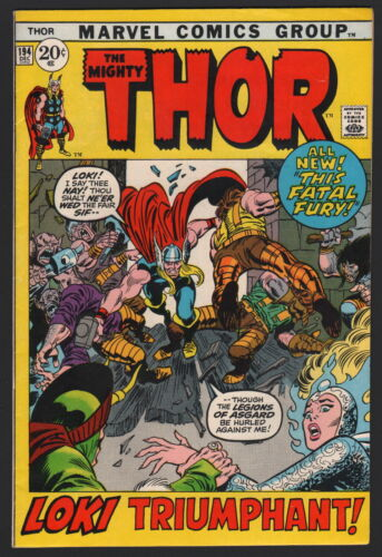 THOR #194, 1971, Marvel, NM- CONDITION COPY