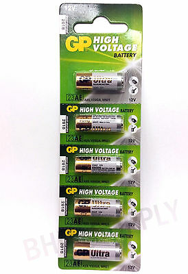 Gold Peak GP 23AE A23S A23 GP23AE MN21 23GA 12 Volt Battery (5 Batteries)
