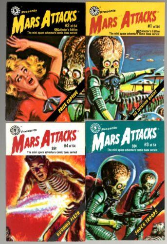 Pocket Comics MARS ATTACKS 1-4