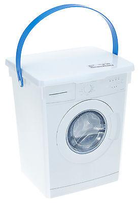 Kunststoff-behälter Mit Deckel (Waschpulverbox Waschmittelbox 5 l Waschmitteldose Waschmittelbehälter)
