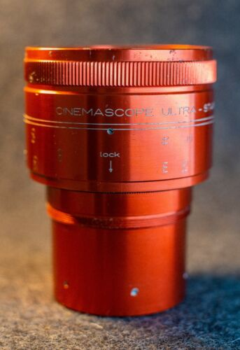 ISCO Ultra-Star Plus 2.1 Red anamorphic 2x squeeze + RedStan Clamp