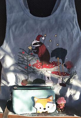 Children's Woodland Creatures Lot Mushroom Christmas Jumper Fox Bag And Friend