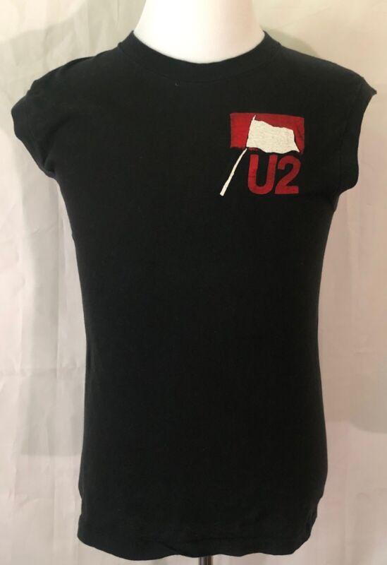U2 1983 Original War Tour Sleeveless Shirt