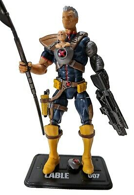 """Marvel Universe Cable 3.75"""" in Action Figure LOOSE #007 X-Men Baby Hope"""