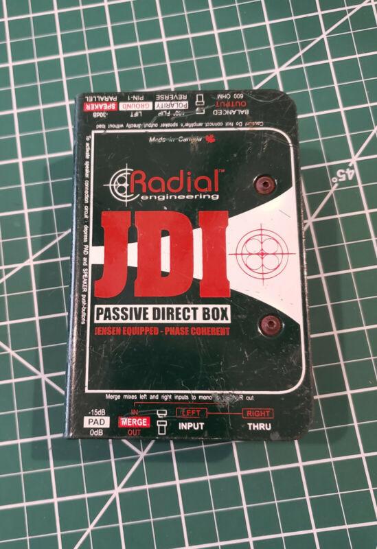 Radial Engineering JDI Passive Direct Box Used Good Condition