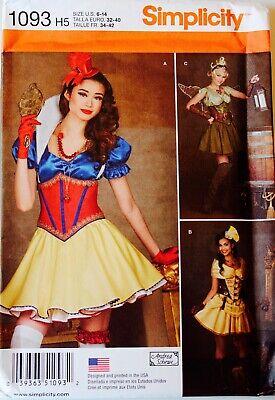 Misses Girls Belly Dancer Renaissance Fairy Witch Oz Costume Pattern U PICK! ](Renaissance Belly Dancer Costume)