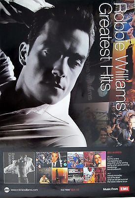 "ROBBIE WILLIAMS ""GREATEST HITS"" ASIAN POSTER - Take That"