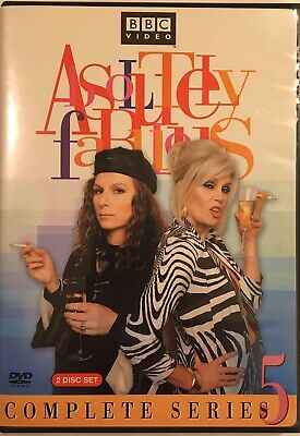 Absolutely Fabulous - Series 5 (DVD, 2005, 2-Disc Set) BBC Video