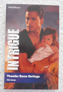 ++ MILLS AND BOON INTRIGUE 2012 THUNDER HORSE HERITAGE ELLE JAMES++