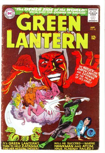 1966 DC COMICS GREEN LANTERN #42 IN VG CONDITION