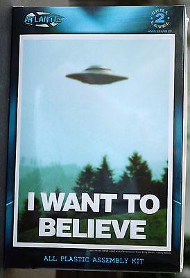 I want to believe Billy UFO Flying Saucers Fliegende Untertasse, Atlantis 1008 China Fliegende Untertasse