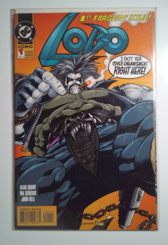 Lobo #1 (1993) DC Comics 9.4 NM Comic Book