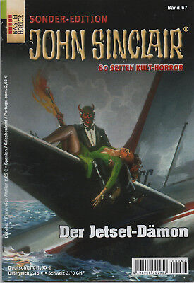 JOHN SINCLAIR SONDEREDITION Nr. 67 - Der Jetset-Dämon - Jason Dark - NEU