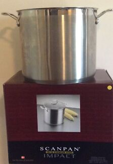 Scanpan 11 L Stainless Steel Covered Stock Pot Castle Hill The Hills District Preview