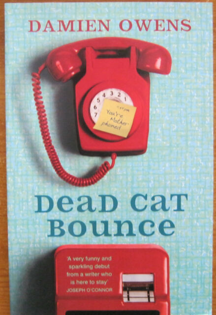 Dead Cat Bounce by Damien Owens (Paperback, Signed, 1st Ed)