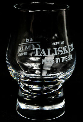 "Talisker Single Malt, Gläser, Whiskyglas, Tasting Glas, ""Made by the Sea"""
