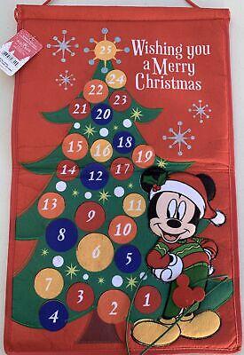 Disney Mickey and Minnie Mouse Christmas Advent Calendar