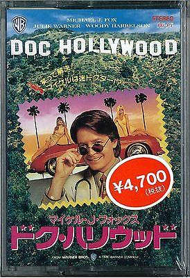 DOC HOLLYWOOD:Michael J. Fox - Japanese original 8mm Video TAPE RARE