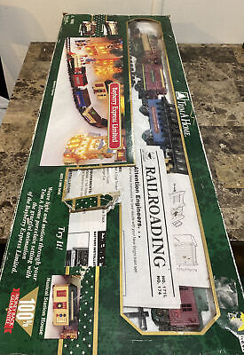 1997 Bayberry Express Limited Christmas Train Set Trim A Home tested works great