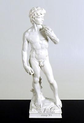 "MICHELANGELO - Skulptur - ""DAVID"" - prächtige Figur der Museums Edition - MIC04"