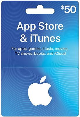App Store   Itunes Gift Cards   Design May Vary Standard 50 New