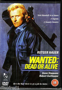 Wanted: Dead Or Alive [DVD] (1986) (2010) Starring Rutger Hauer