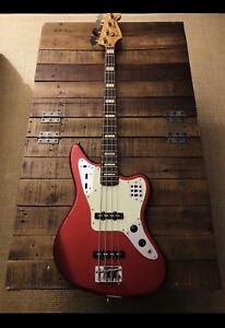 Two Fender Jaguar Bass MIJ