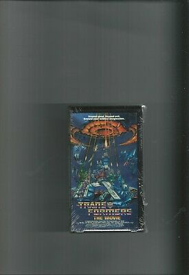 TRANSFORMERS THE MOVIE - ANIMATED - VHS VIDEO - FACTORY SEALED