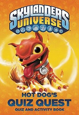 NEW PAPERBACK Skylanders Universe : Hot Dog's Quiz Quest - Quiz & Activity Book