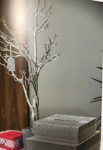 Decorative silver tree in pot - wedding & Christmas