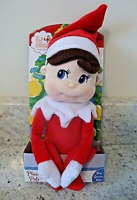 The Elf on the Shelf Christmas Blue-eyed Boy Scout Plushee Pal Soft Plush Doll