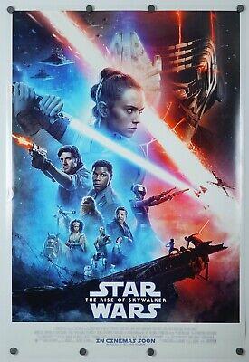 Star Wars Rise of Skywalker - original DS movie poster D/S  27x40 INTL Final VG+
