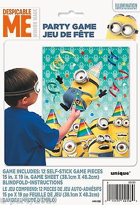 Despicable Me Birthday Party Decorations (DESPICABLE ME PARTY GAME POSTER ~ Birthday Supplies Decorations Minions)