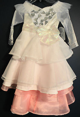 New Disney Store GLINDA Oz Great & Powerful Deluxe Costume Dress Girls S 5/6 (Great Costumes For Girls)