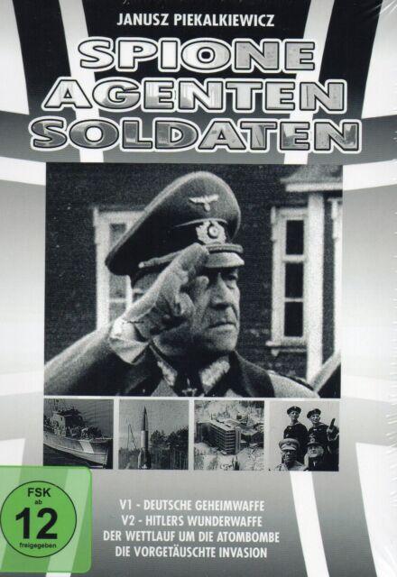 Spione, Agenten, Soldaten - Box 2  [4 DVD Set] Neu!