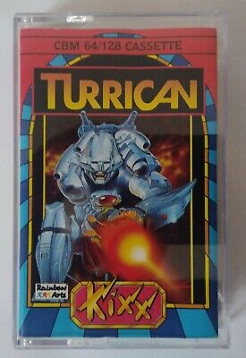 TURRICAN - Rare KIXX version - Commodore 64 (C64, C128) - TESTED - See pics