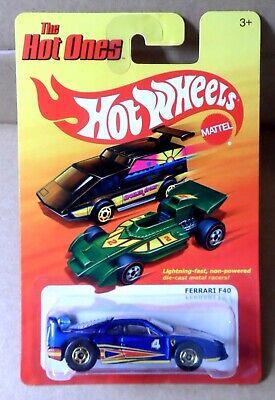 "2011 Hot Wheels ""The Hot Ones"" Ferrari F40 w/Opening Rear Deck"