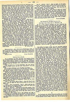 Jüdische Turnvereine Abwehr des Antisemitismus Historical Memorabilia 1907