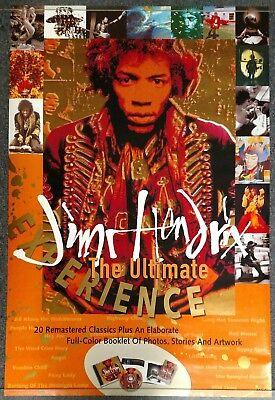Jimi Hendrix The Ultimate Experience 1993 PROMO POSTER