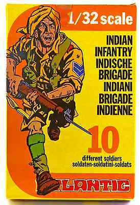 Atlantic Indian Brigade   Wwii Infantry   Set 2115   Mint In Box   60Mm Scale