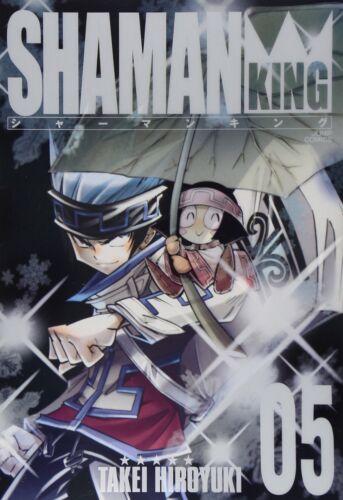 Hiroyuki Takei manga: Shaman King Kanzenban vol.5 Japan