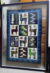 Peruvian Llama Wool Cross-stitch Art Sydney City Inner Sydney Preview
