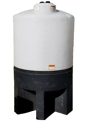 310 Gallon Cone Bottom Tank And Stand