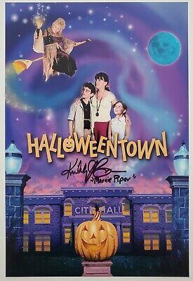 Halloween Town Poster (Kimberly J Brown Signed Halloweentown 8x12 Photo